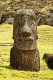 Rapa Nui park narodowy Zdjęcia Royalty Free
