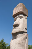 Rapa Nui Statue in Viterbo, Italy Stock Photo