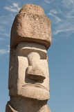 Rapa Nui Statue in Viterbo, Italy Stock Images