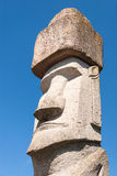 Rapa Nui Statue in Viterbo, Italy Royalty Free Stock Photos