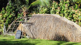 Rapa Nui Vaka Zajęczy dom Zdjęcia Royalty Free