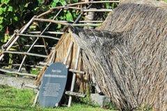Rapa Nui Vaka Zajęczy dom Fotografia Royalty Free