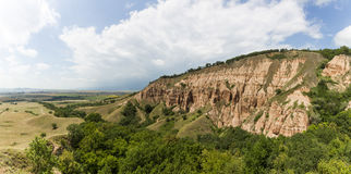 Rapa Rosie - a geological and botanical reserve in Romania Stock Photo