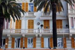 Rapallo, building facade Stock Images