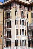 Rapallo, building facade Royalty Free Stock Image