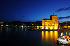 Rapallo castle Stock Photos