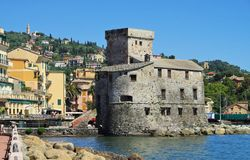 Rapallo castle Royalty Free Stock Photos