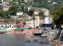 Rapallo in Italy Stock Image