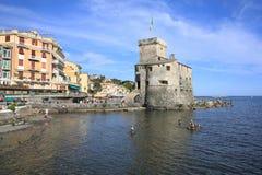 Rapallo in Liguria, Italy Stock Photo