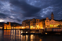 Rapallo, Liguria, Italy Royalty Free Stock Photos