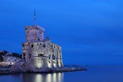 rapallo s κάστρων Στοκ εικόνες με δικαίωμα ελεύθερης χρήσης