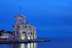 Rapallo's Castle Royalty Free Stock Images