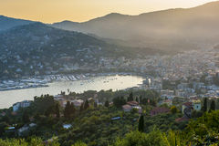 Rapallo view Royalty Free Stock Photography