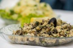 Rapanas salad -selective focus Royalty Free Stock Image