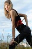 Rapariga Fotografia de Stock Royalty Free