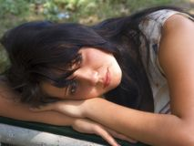 A rapariga Fotos de Stock Royalty Free