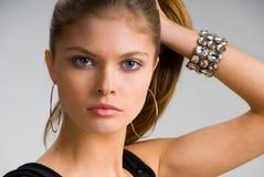 Rapariga atrativa Fotografia de Stock