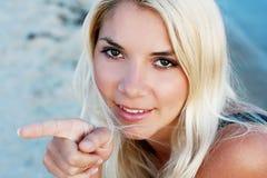 Rapariga bonita Imagem de Stock Royalty Free