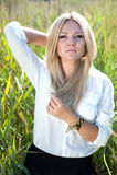Rapariga bonita Fotografia de Stock