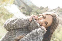 Rapariga bonita Fotos de Stock Royalty Free