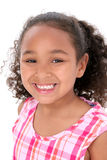 Rapariga bonita com sorriso grande Imagens de Stock Royalty Free