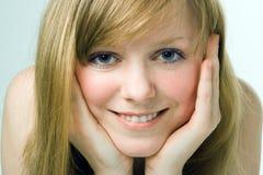 Rapariga da beleza dos termas Imagens de Stock Royalty Free