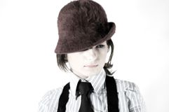 Rapariga da foto Imagens de Stock Royalty Free