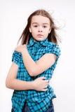Rapariga de grito bagunçado Imagens de Stock
