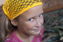 Rapariga de Smilling fotografia de stock royalty free