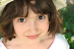 Rapariga de sorriso Fotografia de Stock Royalty Free