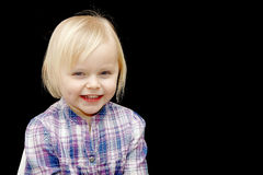 Rapariga de sorriso Imagem de Stock Royalty Free