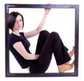Rapariga do retrato Imagens de Stock