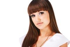 Rapariga encantadora bonita Imagem de Stock Royalty Free