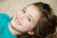 Rapariga feliz foto de stock royalty free