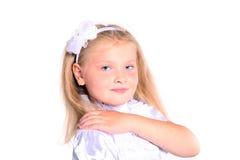 Rapariga na farda da escola Imagem de Stock Royalty Free