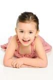 Rapariga saudável de sorriso Imagens de Stock Royalty Free