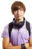 Rapaz adolescente imagem de stock