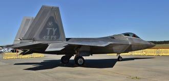 Rapaz de la fuerza aérea F-22 Fotografía de archivo libre de regalías