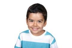 Rapaz pequeno árabe feliz imagens de stock royalty free