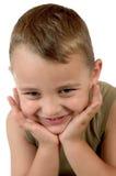 Rapaz pequeno Foto de Stock