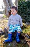 Rapaz pequeno! Imagens de Stock