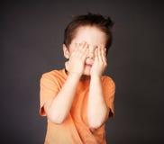 Rapaz pequeno Imagens de Stock