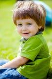 Rapaz pequeno Imagem de Stock