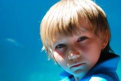 Rapaz pequeno Imagem de Stock Royalty Free