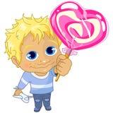 Rapaz pequeno Ilustração do Vetor