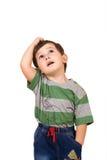 Rapaz pequeno Imagens de Stock Royalty Free