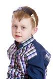 Rapaz pequeno adorável imagem de stock