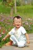Rapaz pequeno asiático Foto de Stock Royalty Free