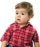 Rapaz pequeno bonito imagens de stock royalty free