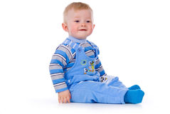 Rapaz pequeno bonito fotografia de stock royalty free